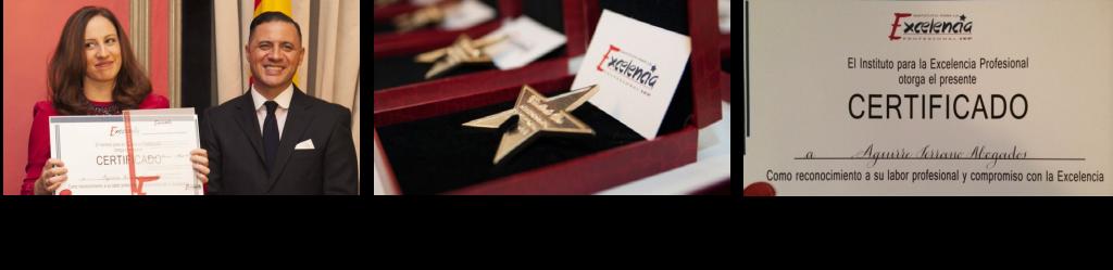 Estrella de oro del Instituto para la Excelencia profesional